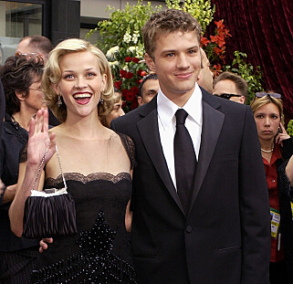 SKILT: Reese Witherspoon og Ryan Phillipe. Foto: NTB Scanpix