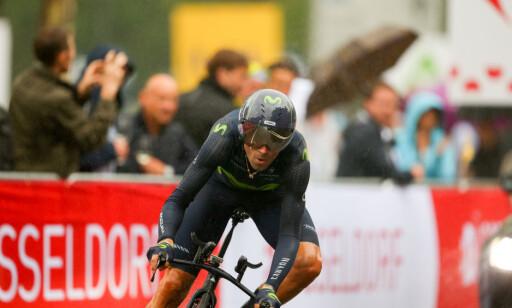 MISTER SESONGEN: Alejandro Valverde har syklet sitt siste ritt denne sesongen, ifølge Movistar-sjefen. Foto: NTB Scanpix