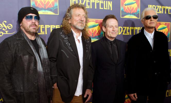 <strong>«JÆVLA BRYLLUPSSANG»:</strong> Bandet Led Zeppelin vil ikke spille deres mest populære sang igjen. Foto: NTB Scanpix