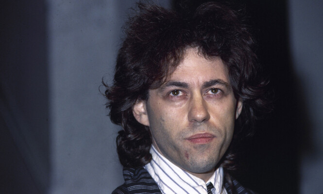 <strong>SLIPPER IKKE UNNA:</strong> Bob Geldof er lei av å høre hitlåta si i butikken. Foto: NTB Scanpix