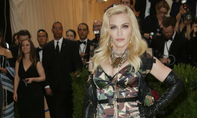 <strong>BLIR SPILT OVERALT:</strong> Madonna vil ikke høre «Like A Virgin» offentlig. Foto: NTB Scanpix