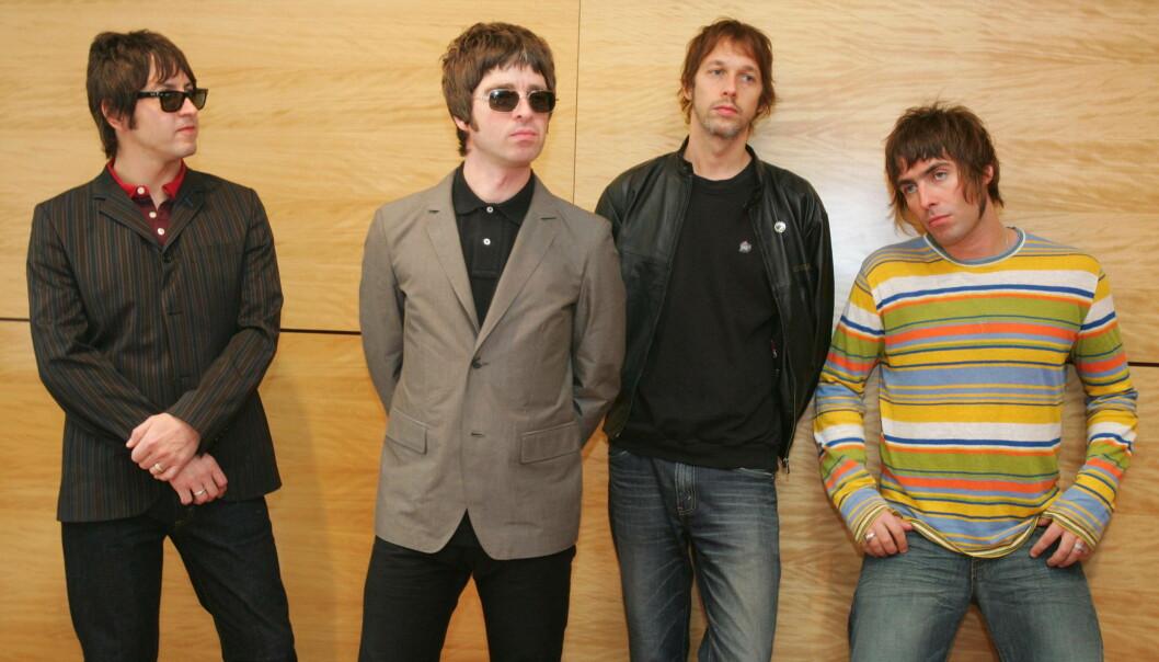 <strong>VIL SPY:</strong> Vokalist Liam Gallagher kan ikke fordra «Wonderwall». Foto: NTB Scanpix