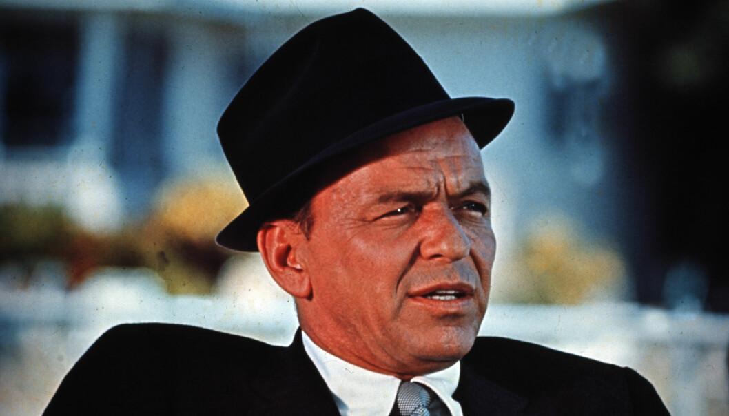 <strong>STOR HIT:</strong> Frank Sinatra hatet sin egen låt og sa det ofte til publikum, til tross for at det var en av hans mest populære sanger. Foto: NTB Scanpix