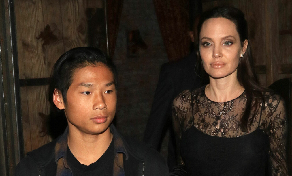 NÆRT BÅND: Skilsmissen mellom Angelina og Brad skal ha gjort forholdet mellom Angelina og Maddox sterkere. Foto: NTB scanpix