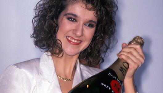 TIDLIG TRIUMF: Céline Dion etter Eurovision-seieren i 1988. Foto: Eystein Hanssen/ NTB scanpix