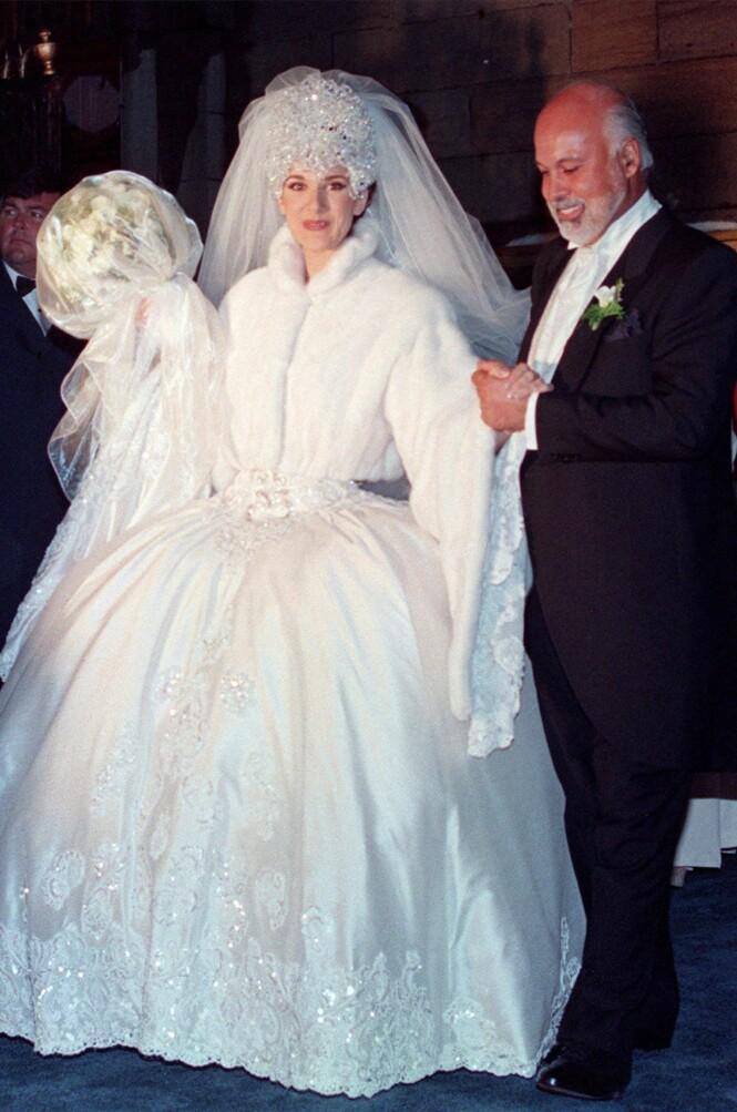 STØDIG PAR: Céline Dion og Réne Angélil giftet seg i desember 1994, og var gift helt til hans død i 2016. Foto: Ryan Remiorz/ The Canadian Press/ NTB scanpix