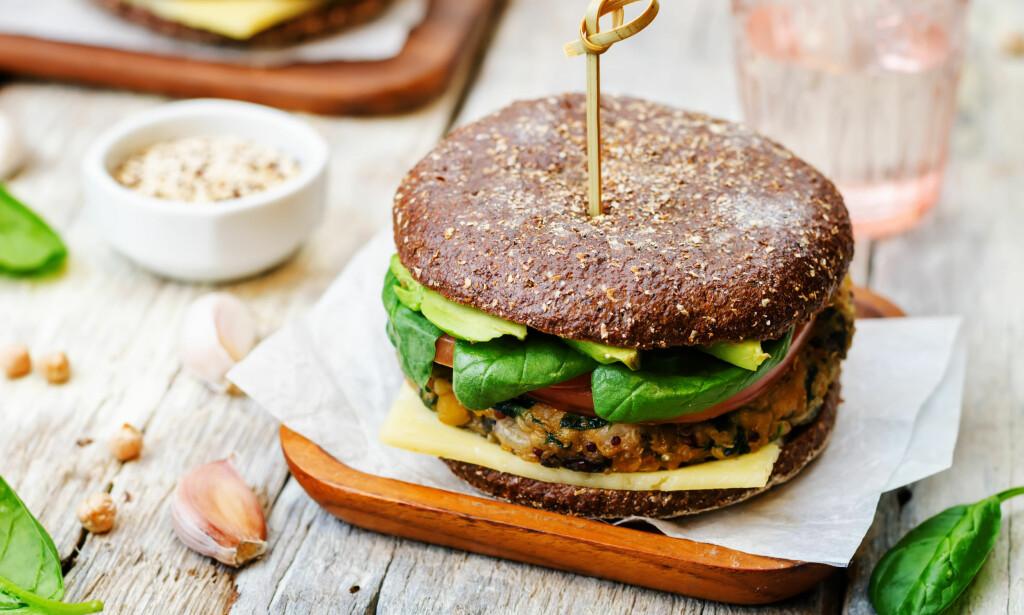 VEGETARBURGER: Veterinærinstituttet har funnet ulovlig genmodifisert soya i vegetarburgere fra malayiske Greenfarm. Illustrasjonsofoto: Scanpix