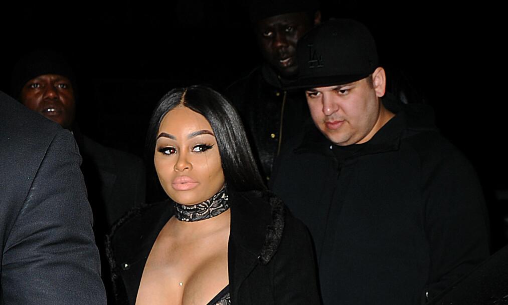 <strong>BESKYLDNINGER:</strong> Rob Kardashian har kommet med en rekke beskyldninger rettet mot Blac Chyna i flere innlegg på Instagram. Foto: NTB scanpix