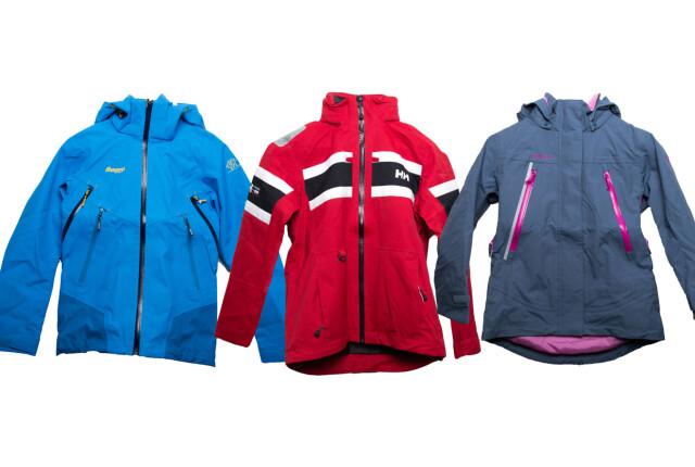 6d951a1e STRYK: Disse jakkene får stryk i Forbrukerrådets test. De er fra Helly  Hansen,
