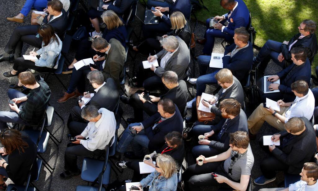 UENIG: Olav Torheim er uenig i karakteristikkene av Scanza Forum. Foto: Lise Åserud / NTB scanpix