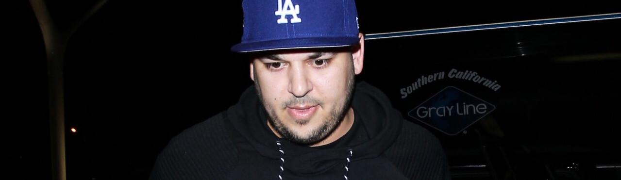 FENGSEL: Rob Kardashian risikerer å bli dømt for hevnporno. FOTO Scanpix