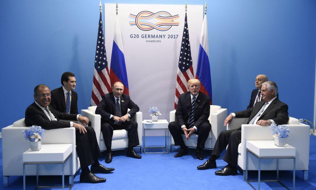 image: Tillerson: Trump uttrykte bekymring overfor Putin om russisk innblanding i den amerikanske valgkampen