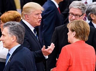 image: Trump var borte store deler av klimasamtalen. Likevel kom han med klimabudskap til G20