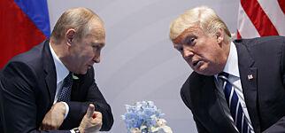 image: Trump holdt et hemmelig møte alene med Putin