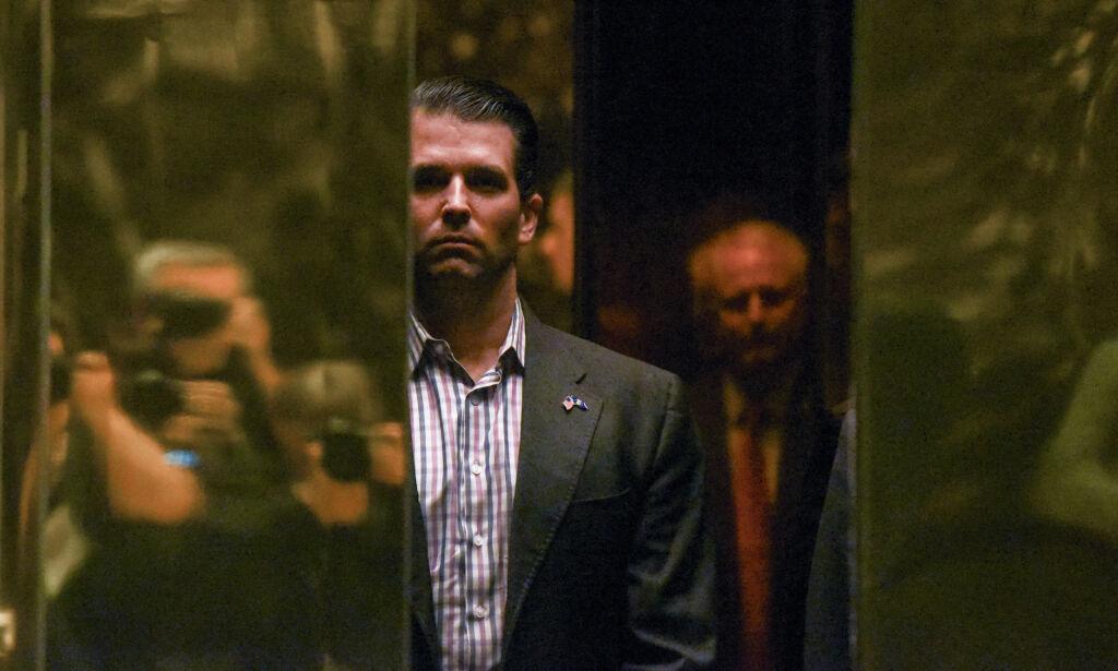 image: Her blir Trump jr. lovet ødeleggende informasjon om Clinton: «Jeg elsker det»