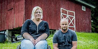 image: Kristin (30) ble feilbehandlet på sykehus. Nå sitter hun i rullestol