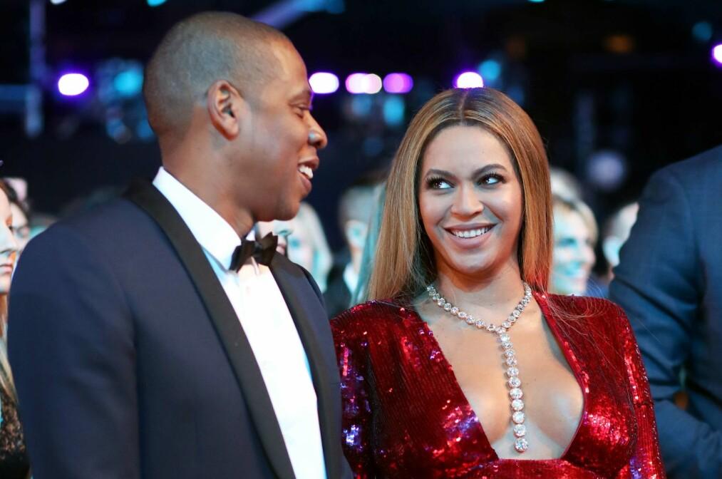 PREGET AV TURBULENS: De siste årene har etter alt å dømme vært spesielt utfordrende for ekteparet Beyoncé og Jay Z. Likevel påstås det nå at forholdet er sterkere enn noensinne. Foto: NTB Scanpix