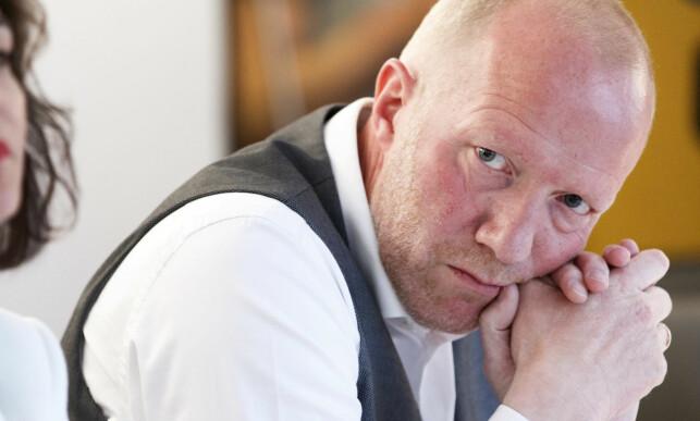 LOBBYREGISTER: Arne Jensen, generalsekretær i Norsk Redaktørforening, støtter ideen om et lobbyregister, og jobber for å få det plass. Foto: Gorm Kallestad / NTB Scanpix