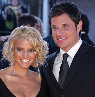 GIFT: Jessica var tidligere gift med Nick Lachey. Foto: AP / NTB Scanpix.