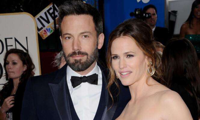 <strong>SKILT:</strong> To år etter at stjerneparet offentliggjorde bruddet er de nå skilt. Her er de to skuespillerne sammen på Golden Globe Awards i 2013. Foto: NTB Scanpix