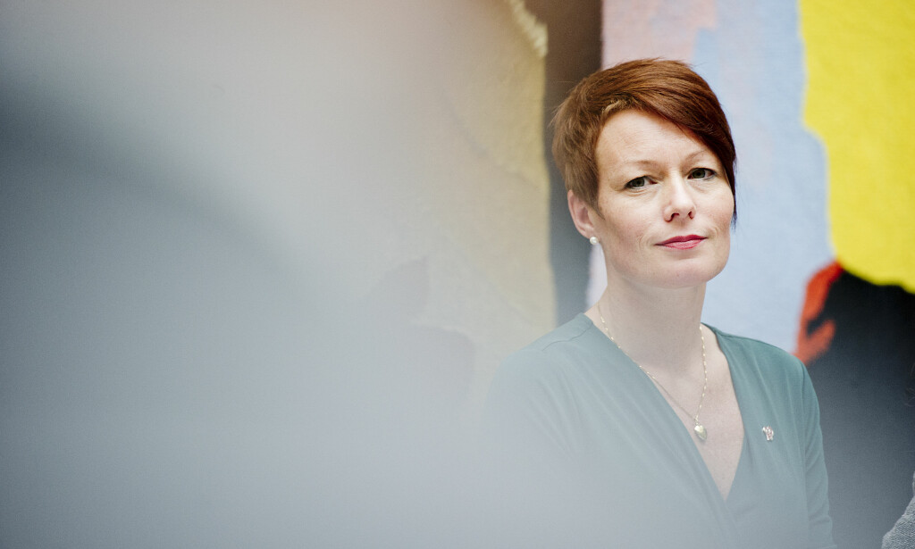 LEGGE OM: Line Henriette Hjemdal (KrF) mener strategien bør legges om og at det vil tjene sjømatindustrien. Foto: Jon Olav Nesvold / NTB scanpix