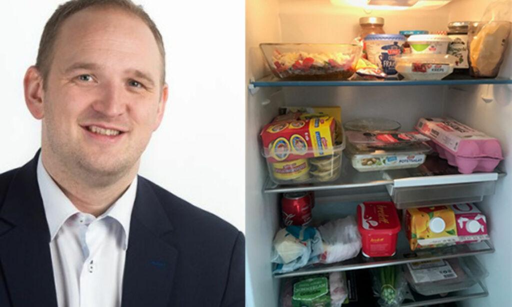 image: Fire statsråder åpnet kjøleskapet sitt:Slik bekjemper de matsvinn