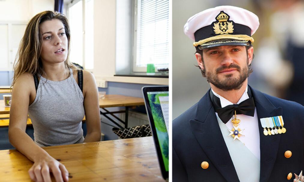 TORDNER: Bianca Ingrosso mener prins Carl Philip og hans følge opptrådte ufint da de deltok på Summer On-festivalen i Sverige forrige uke. Foto: NTB Scanpix