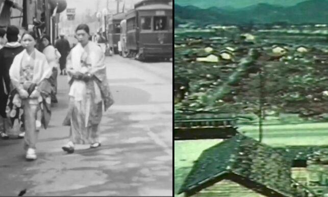 image: Unike bilder viser Hiroshima før USA slapp atombomba: - Veldig mye forandret seg