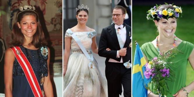 Slik har livet til kronprinsesse Victoria blitt snudd på hodet