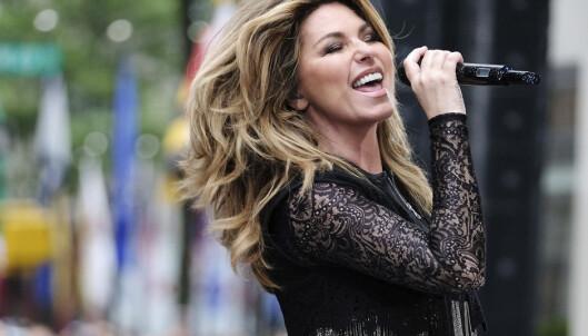 <strong>TILBAKE:</strong> Shania Twain sang på «Today Show» i New York i midten av juni. Foto: AP/ NTB scanpix