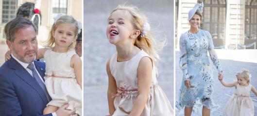 Lille Leonore stjal showet under kronprinsesse-festen