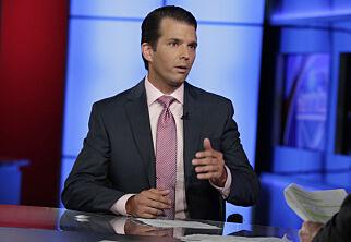 image: Eks-spion med på møte mellom Trump junior og russisk advokat