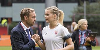 image: Det beste som kan skje norsk fotball i Kiev er å få Ada Hegerberg på nye tanker