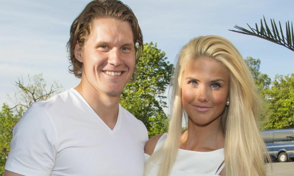 BLE MATFORGIFTET: Både Silje og kjæresten, Alexander Bonsaksen, ble syke under Spania ferien tidligere i sommer. Her på Elles sommerfest i 2015. Foto: Se og Hør, Tor Lindseth