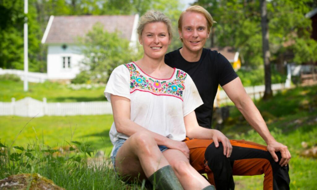 TILBAKE PÅ TV: Vendela Kirsebom og Petter Pilgaard er årets kanskje største «snakkis-par». I august er de aktuelle med egen dokuserie på TV 2 Livsstil. Foto: TV 2