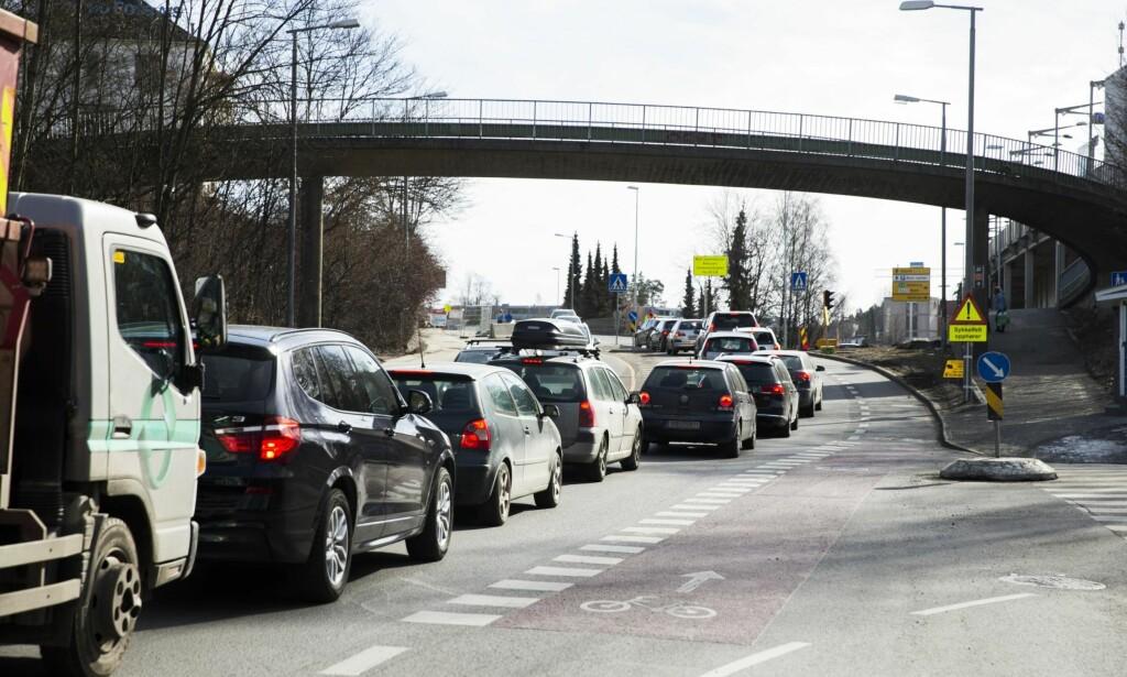 Oslo: En by full av gater som ikke virker, på ubestemt tid. Foto: Roald, Berit / NTB Scanpix