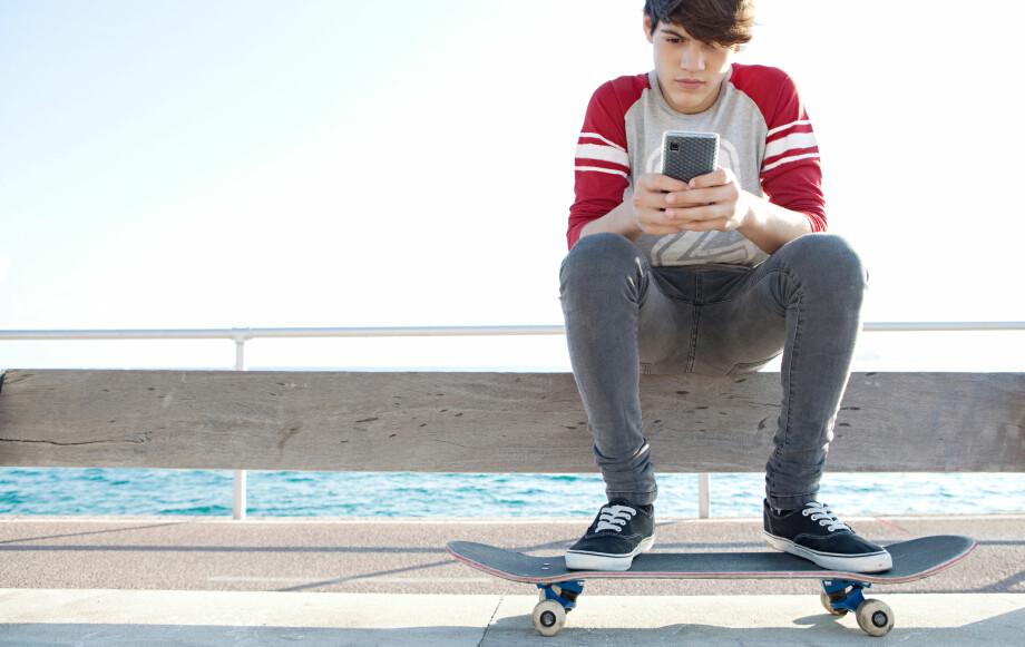 <strong>DYRT:</strong> Å surfe ombord en ferje kan bli rådyrt. Mobilnettet der er båtens eget, og fri roaming gjelder ikke. Illustrasjonsfoto: Shutterstock / NTB Scanpix