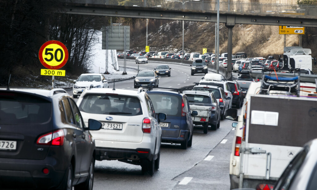 TIDTRØYTE: Tunnelarbeider har skapt mange endeløse køer den siste tiden. Foto: SCANPIX