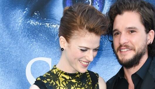 «Game of Thrones»-stjernen forlovet seg