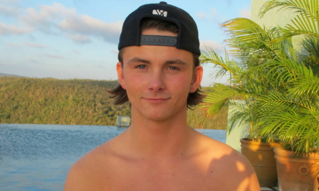 MINDRE SKADER: «Paradise»-Petter slapp unna med mindre skader etter Tarzan-ulykken. Foto: Kine Falch