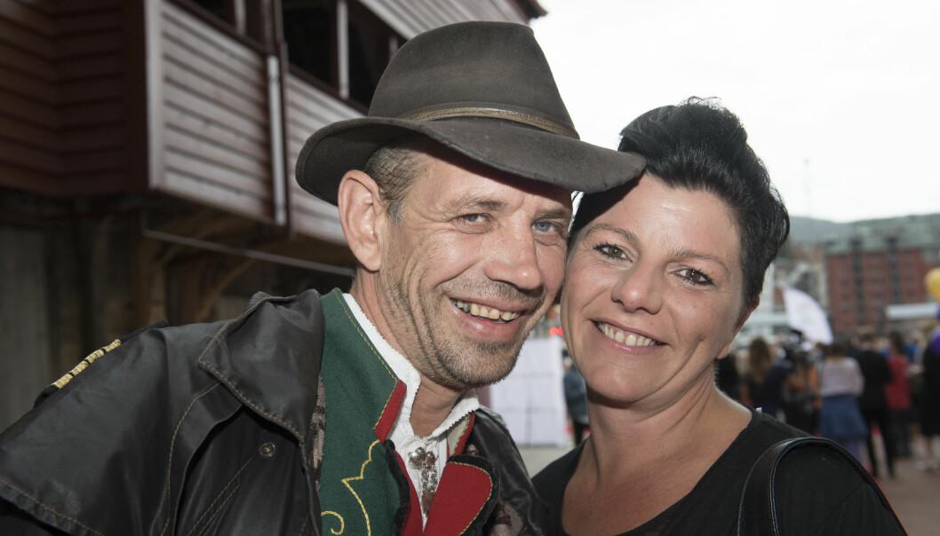 <strong>SAMBOERE:</strong> Leif Einar «Lothepus» Lothe og Randi Sørum. Foto: Marit Hommedal/NTB Scanpix