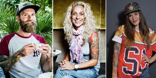 image: Tok tatovering i fylla og «vasket» den med tyrkershots: - Ser ut som ei skjev klovnemaske