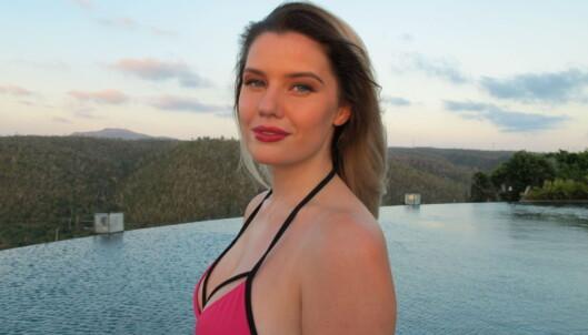 FÅR KRITIKK: Sofie Nilsen har fått kritikk etter hun la ut videoen, men lar folk tro hva de vil. Foto: KIne Falch