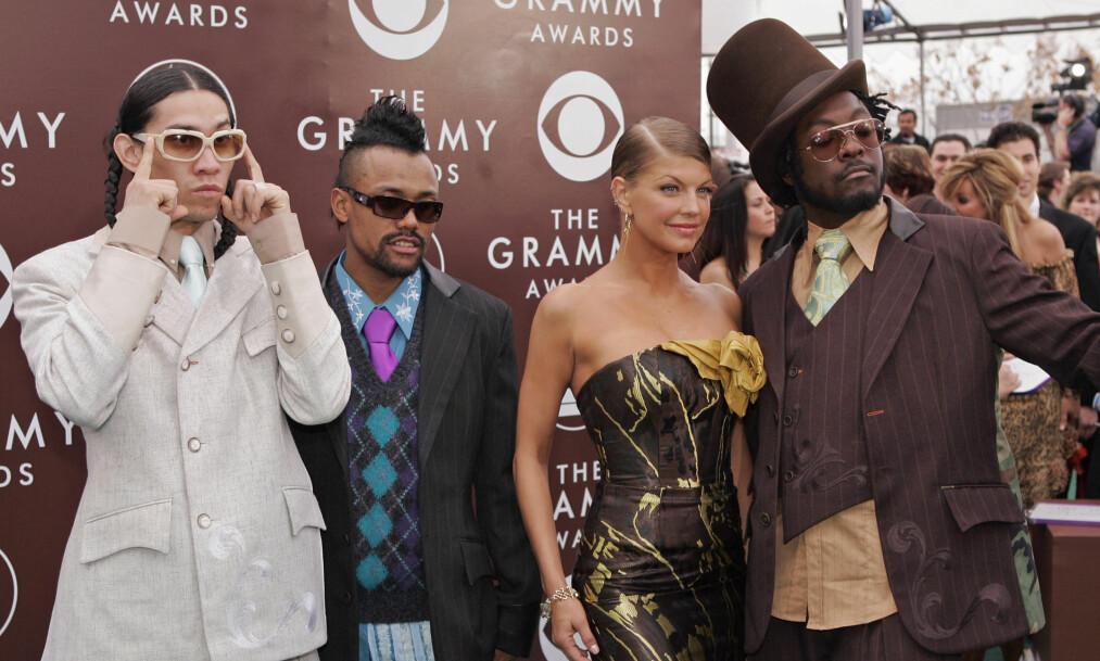 POPULÆR GRUPPE: Black Eyed Peas hadde flere av 2000-tallets mest populære låter. Foto: NTB Scanpix