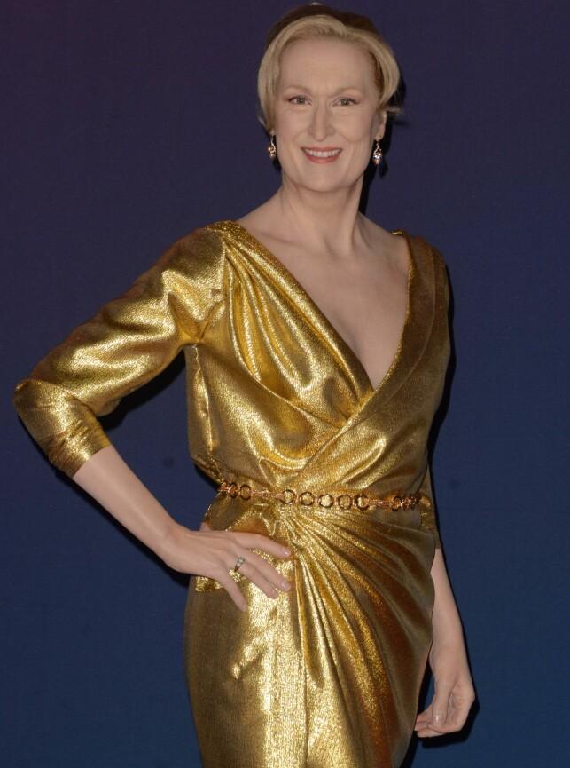 I VOKS: Meryl Streep i voksutgave fra Madame Tussauds i Los Angeles. Foto: MediaPunch/ REX/ Shutterstock/ NTB scanpix