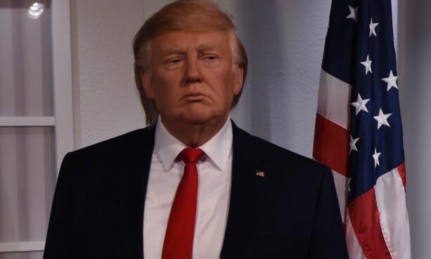 BEDRE: I januar ble en mer presis voksutgave av Donald Trump avduket, på Madame Tussauds i Washington D.C. Foto: AFP/ NTB scanpix