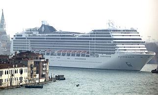 image: Turistopprør i Venezia: - Du spør meg hvordan det er å leve med denne dritten?