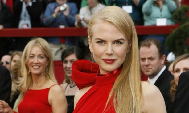 EKTE: Nicole Kidman på Oscar-utdelinga i 2007. Foto: Reuters/ NTB scanpix