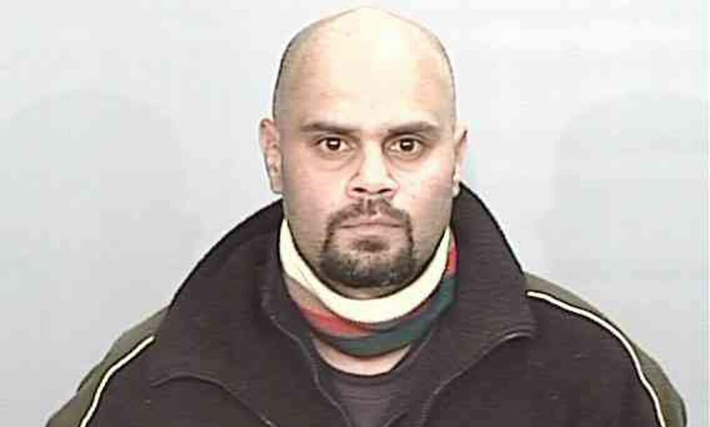 <strong>DRAPSMANN:</strong> Dette bildet av Malcolm Naden ble frigitt av australsk politi i 2011. Han var på rømmen i sju år, og gjemte seg blant annet i en dyrehage. Foto: AFP.