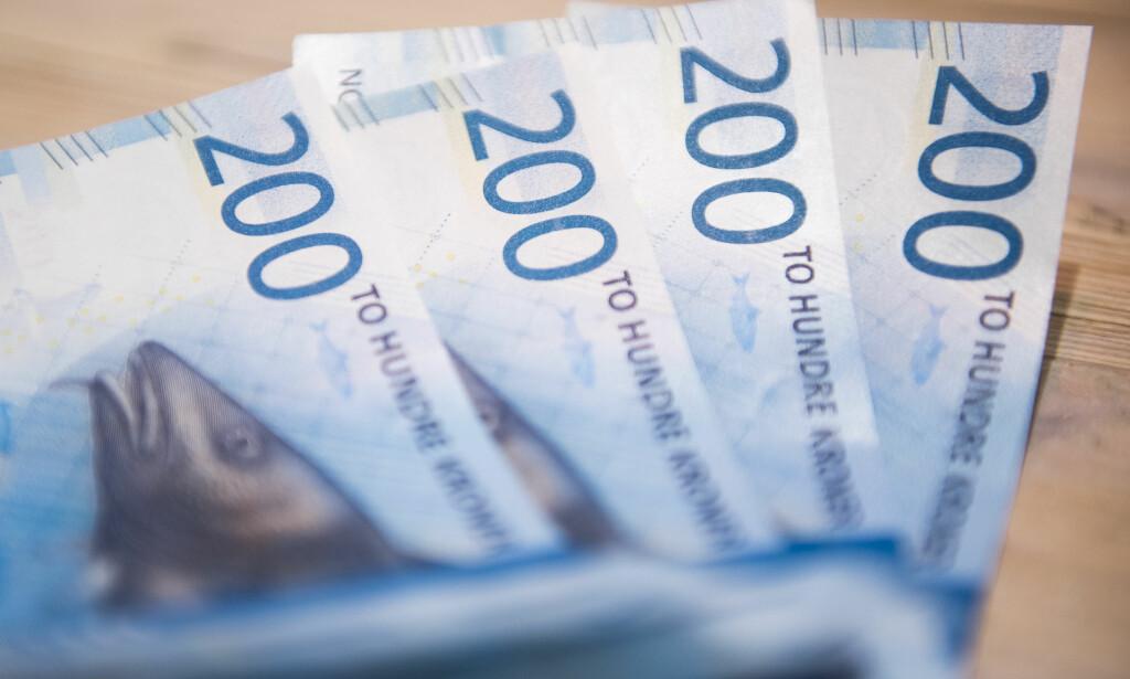 MÅ INNOM TOLLEN: Skal du ha med deg valuta tilsvarende mer enn 25.000 kroner til eller fra Norge, må du melde ifra til Tolletaten. Foto: Jon Olav Nesvold / NTB scanpix